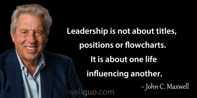 leadership is not about titles