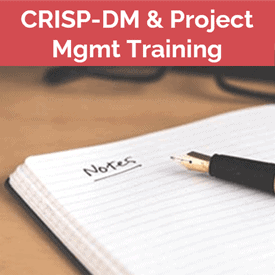 data science project management training