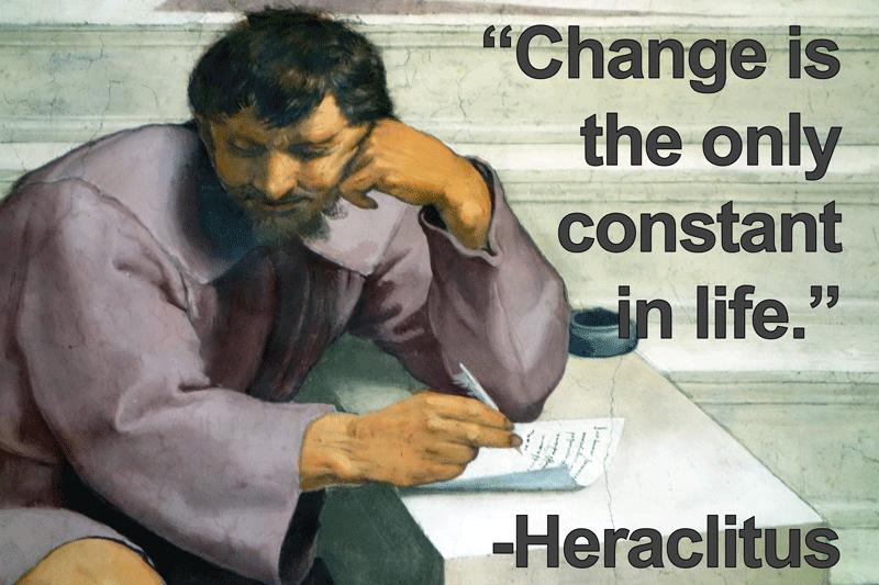 Heraclitus Quote